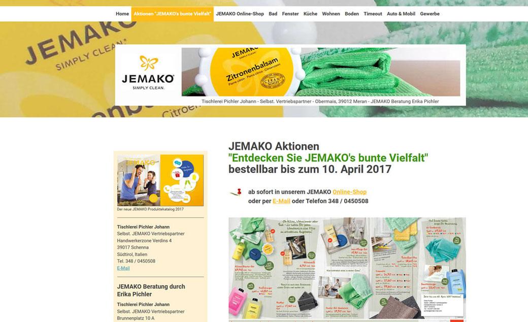 JEMAKO Mikrofaserreinigung - JEMAKO Reinigungsprodukte, Rapperswil