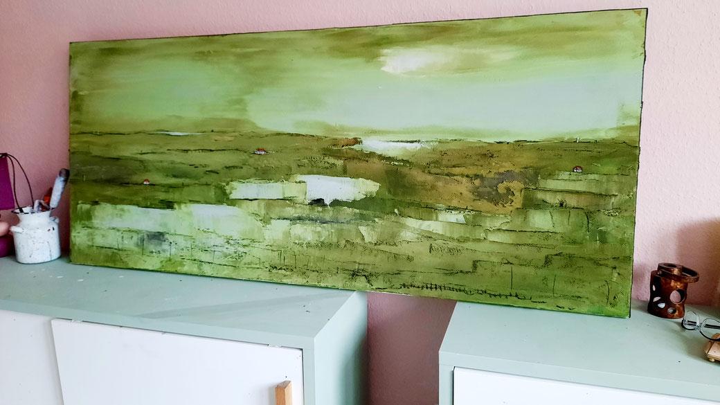 Landschaftsbild grün