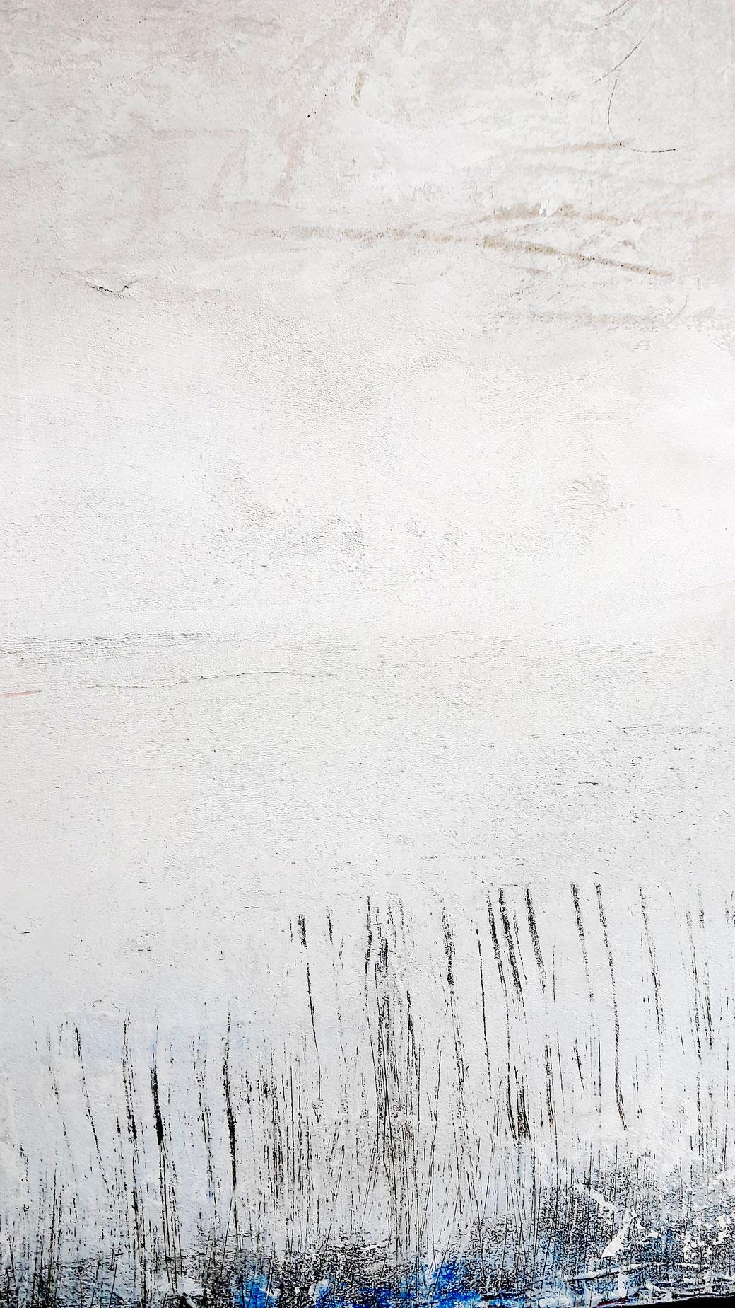 weisses Gemälde Akzent balu