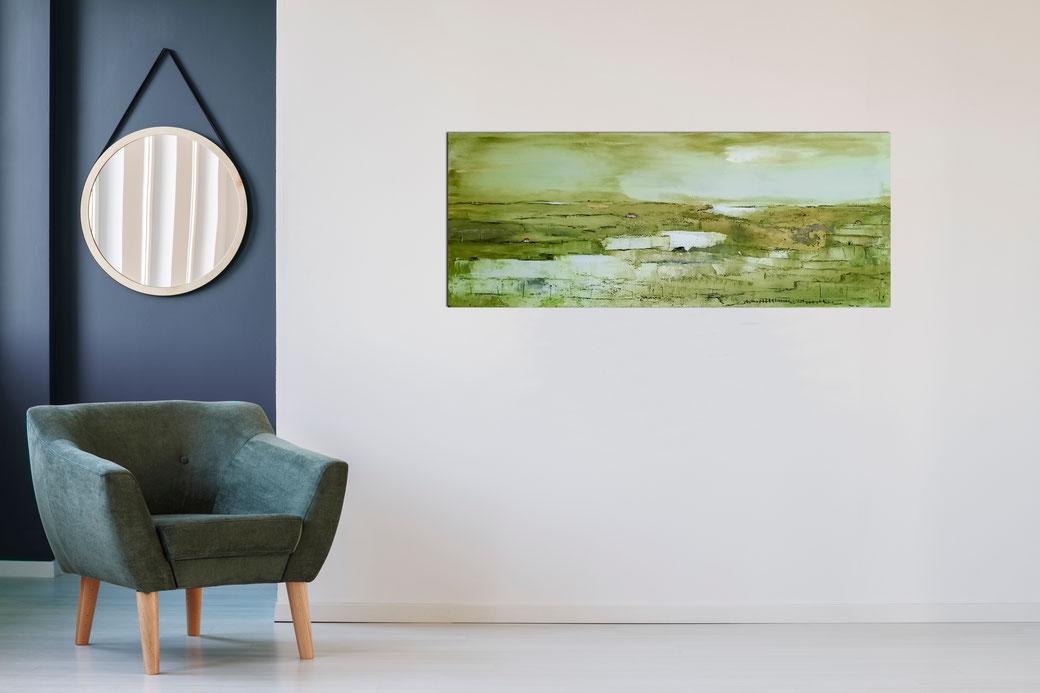 grünes Landschaftsbild