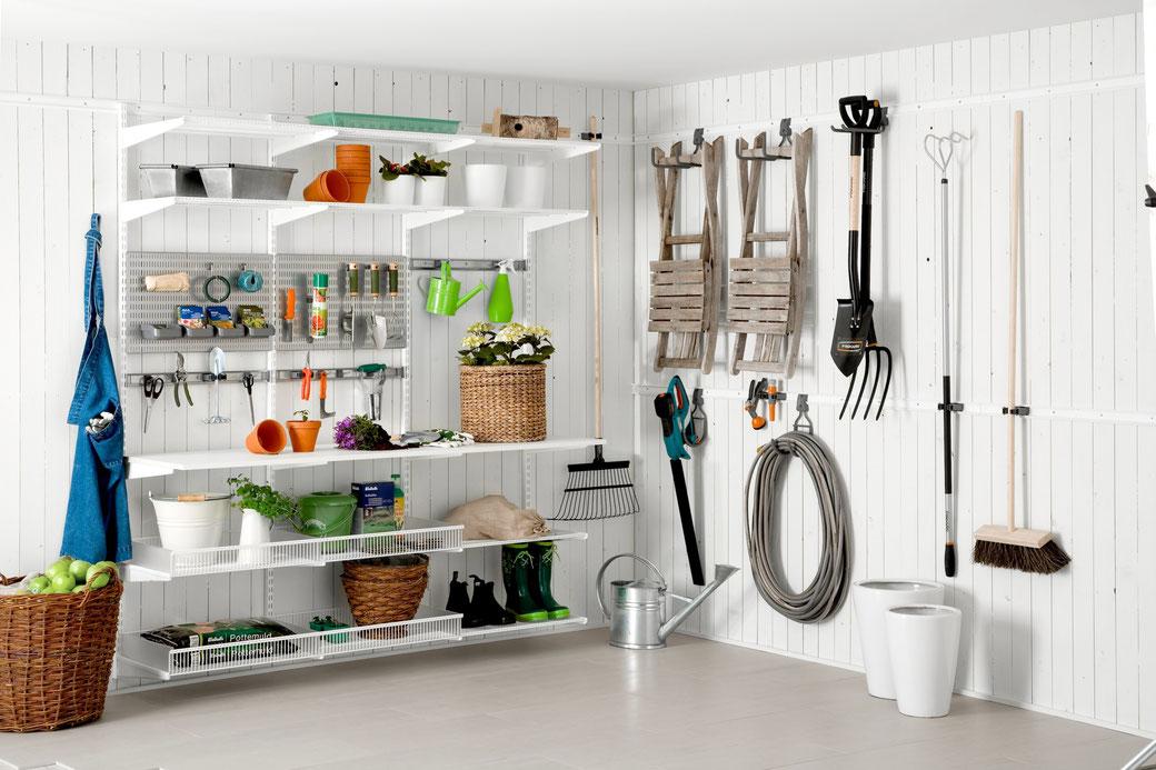Waschküche Einrichten elfa regalsystem für jeden raum im ganzen haus individuell