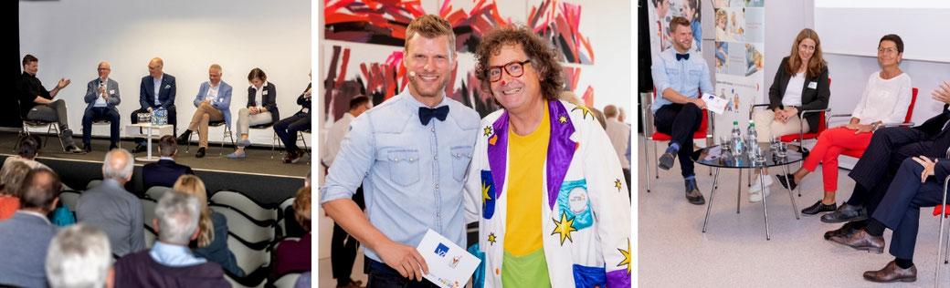 Thomas Odermatt moderiert für die Theodora Foundation schweizweit Charity-Events.