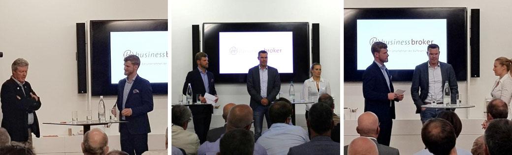 Moderator Thomas Odermatt moderiert die Businesstalks mit Unternehmerinnen und Unternehmer für die Business Broker AG.