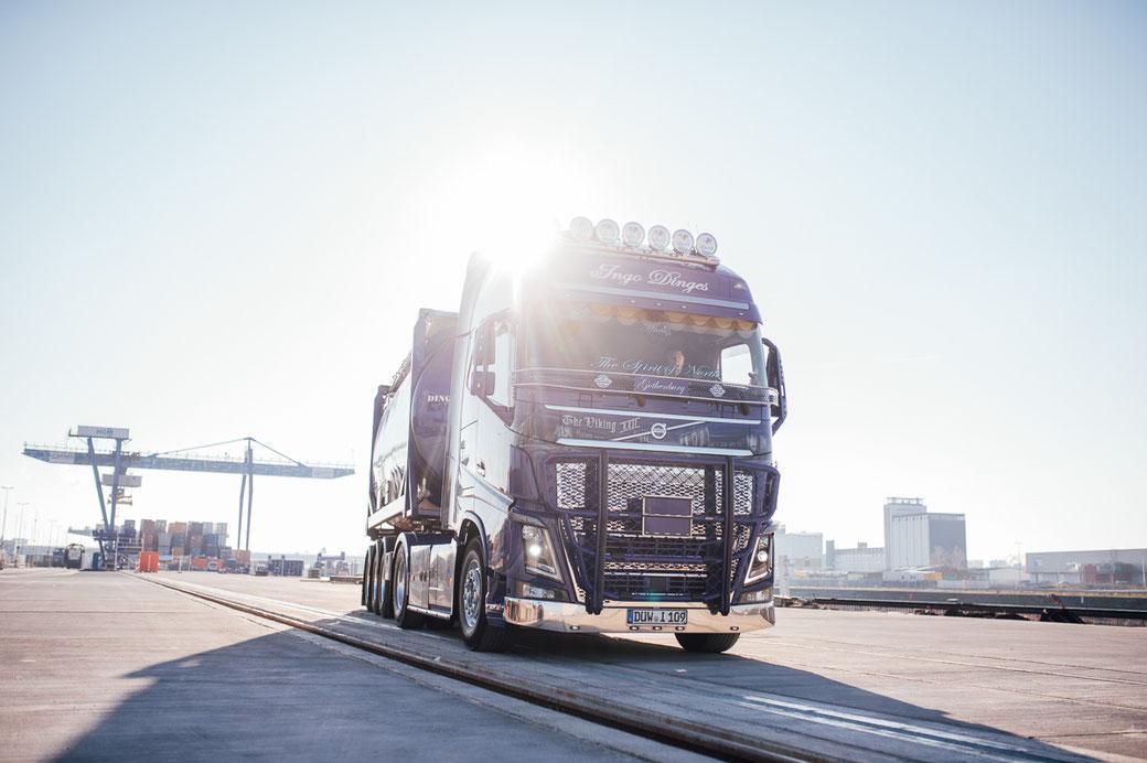 Volvo LKW Fotoshooting