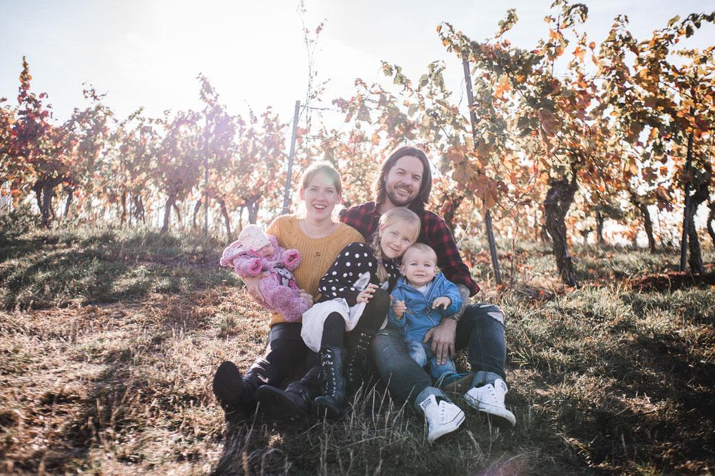 Outdoor Familienaufnahmen