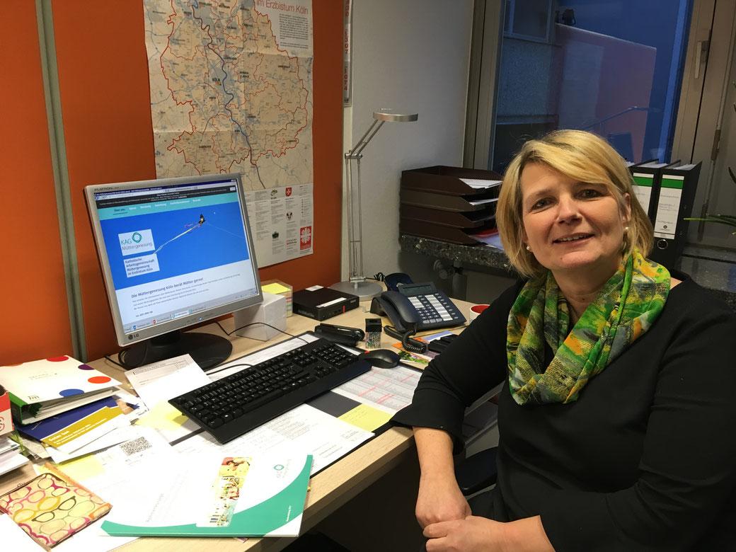 Ingrid Effenberger führt jetzt die Geschäfte der Müttergenesung im Erzbistum Köln.