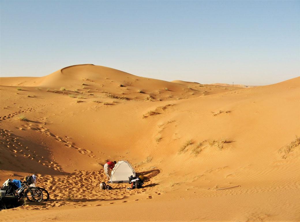 Wüste VAE grenzenlosunterwegs