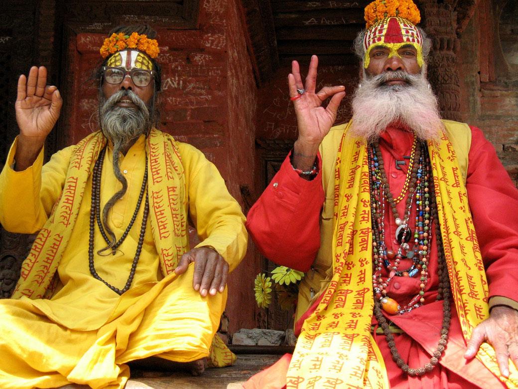 Sadhus Indien