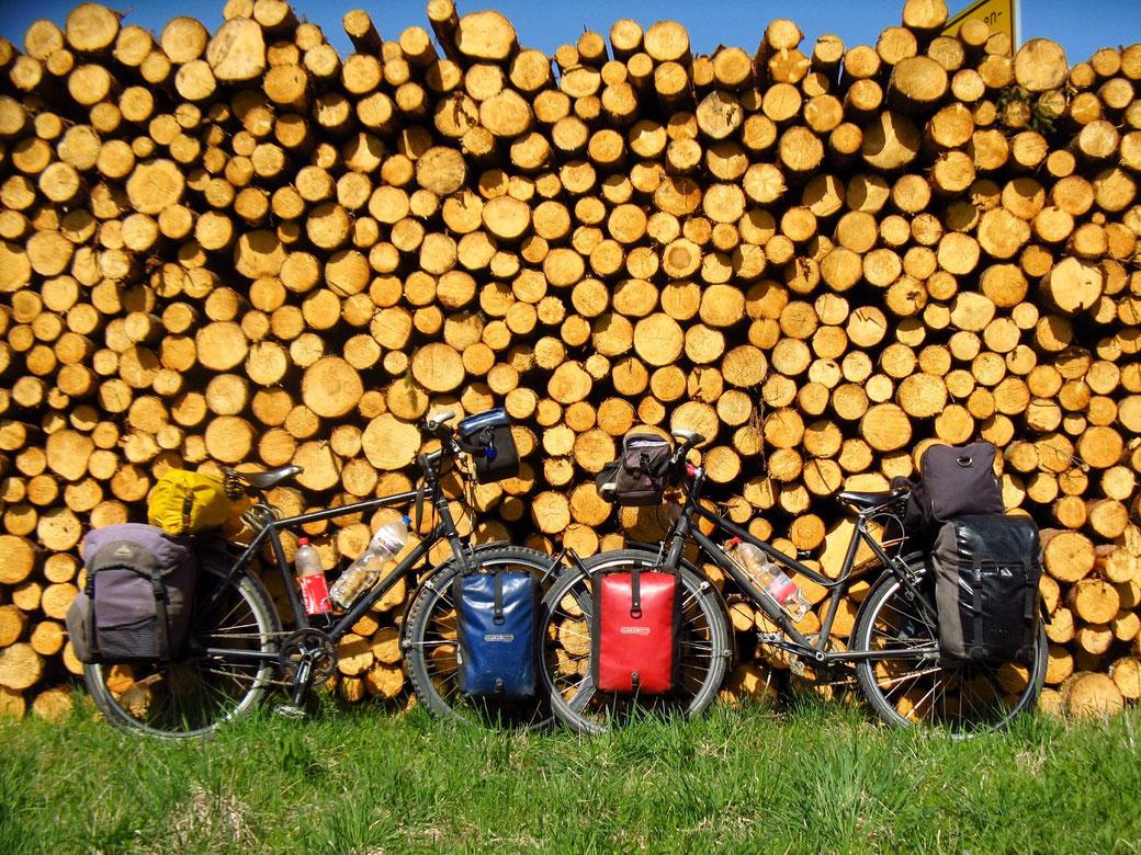 Fahrräder für die lange Tour