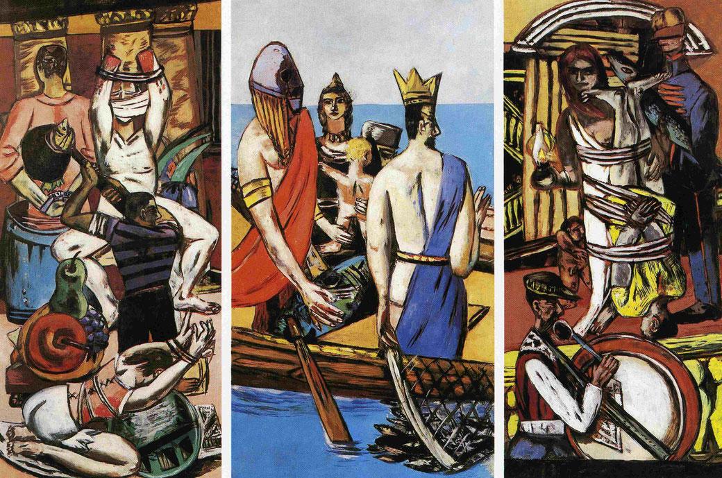 Beckmann´s Triptychon aus dem Jahr 1932-33
