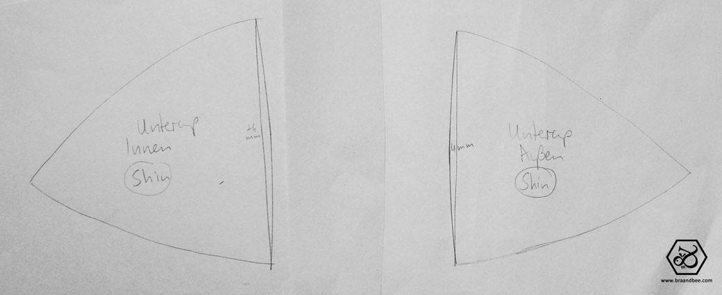 3 Methoden zur BH Schnittmuster Konstruktion im Vergleich - BRA&BEE ...