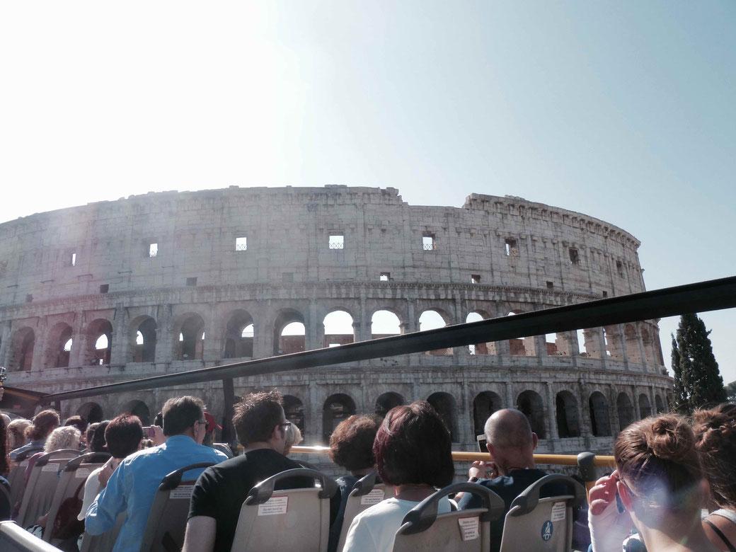 Rom: Stadtrundfahrt vorbei am Kolosseum