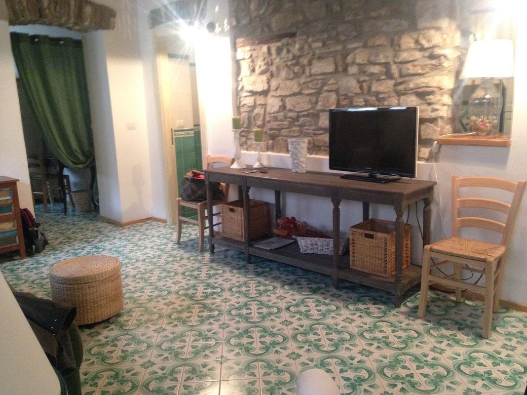 Die Einrichtung des Matarazzo e le sue Soffite - Italienischer Landhausstil mit viel Geschmack