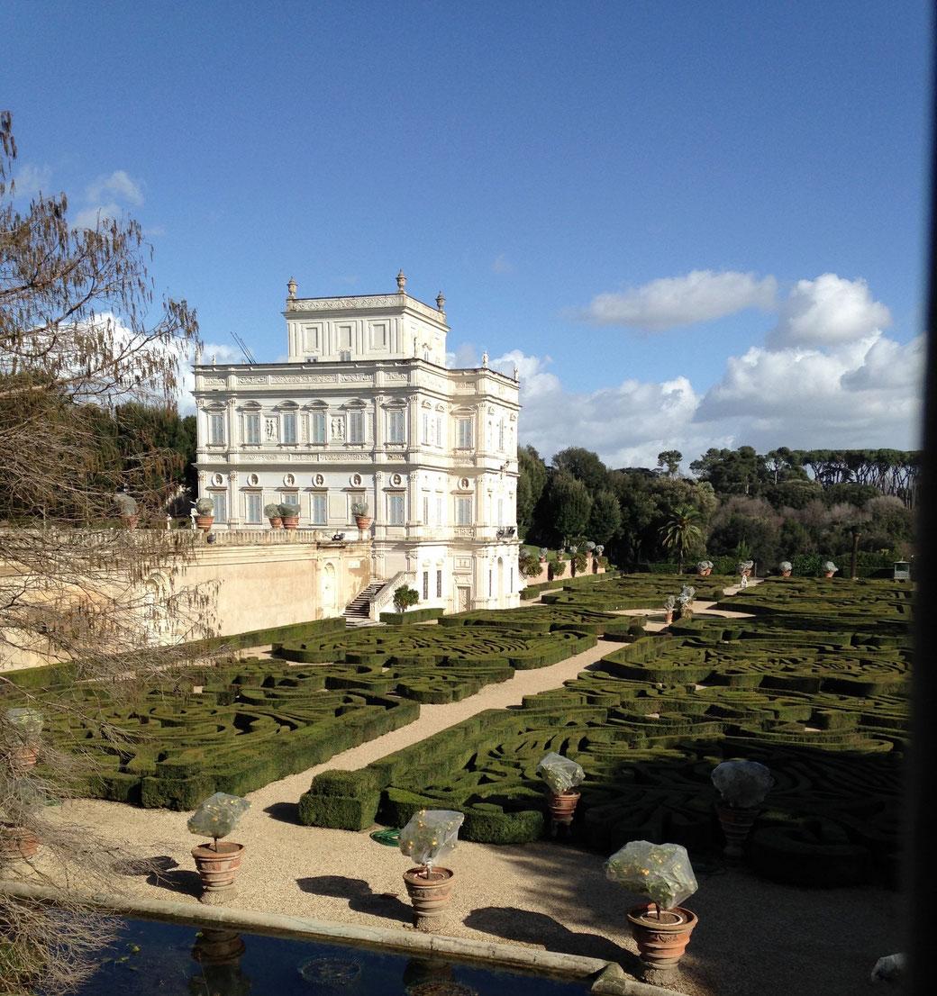 Streifzug durch Rom im Frühling - Die Villa Doria Pamphili