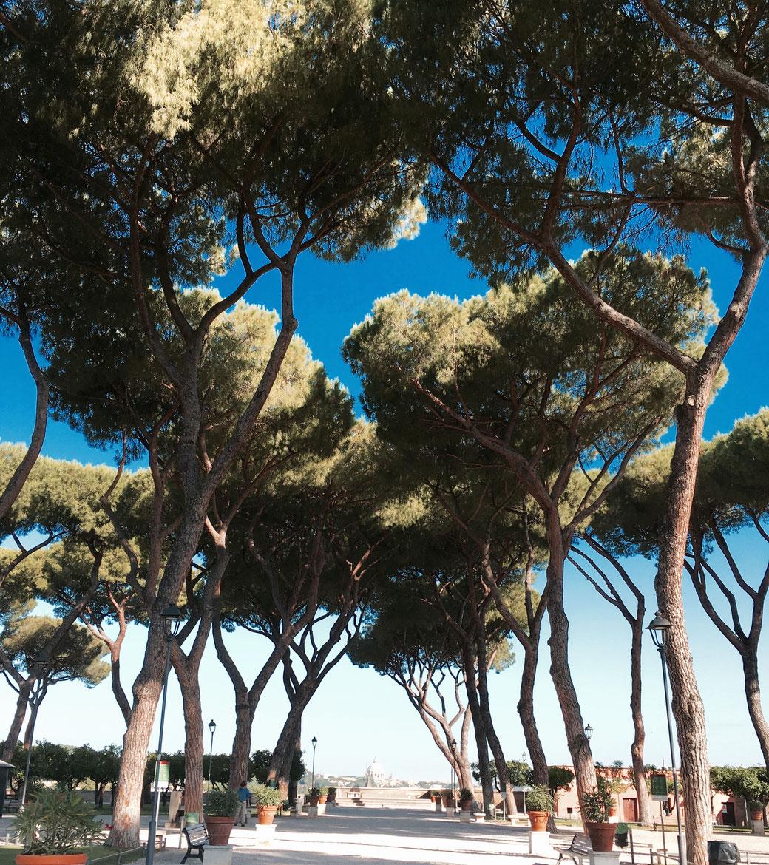 Rom - Orangengarten: Tolle Aussichten auf die Ewige Stadt und die Kuppel des Petersdoms