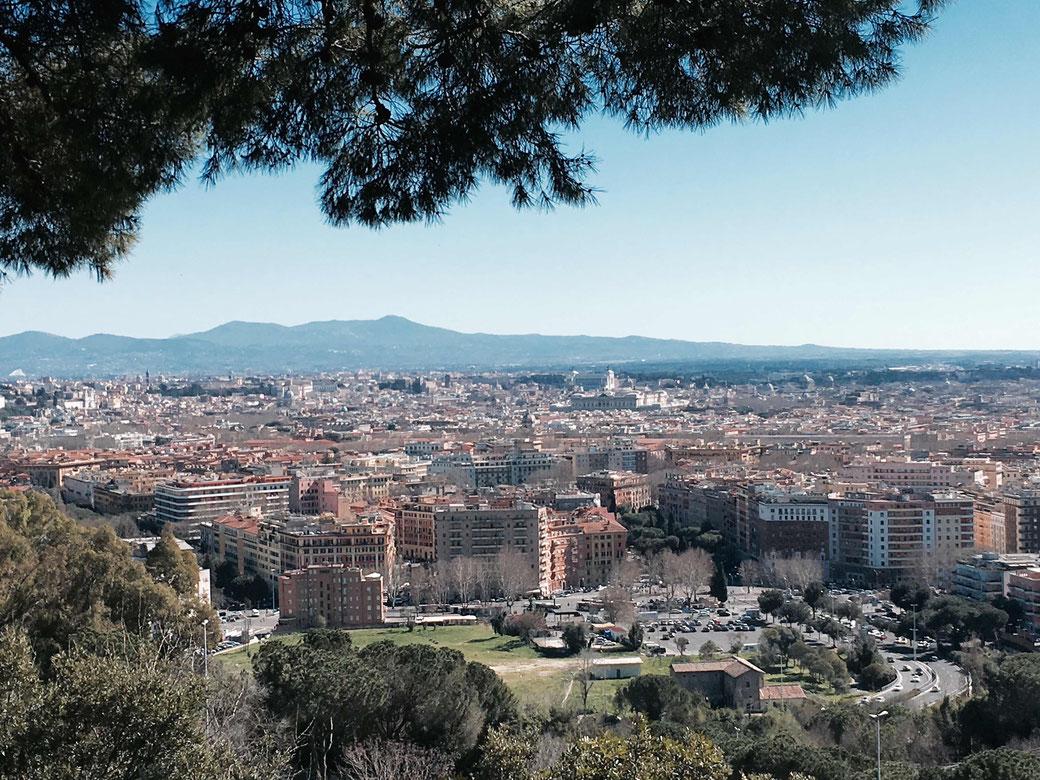 Aussicht vom Monte Mario in Rom