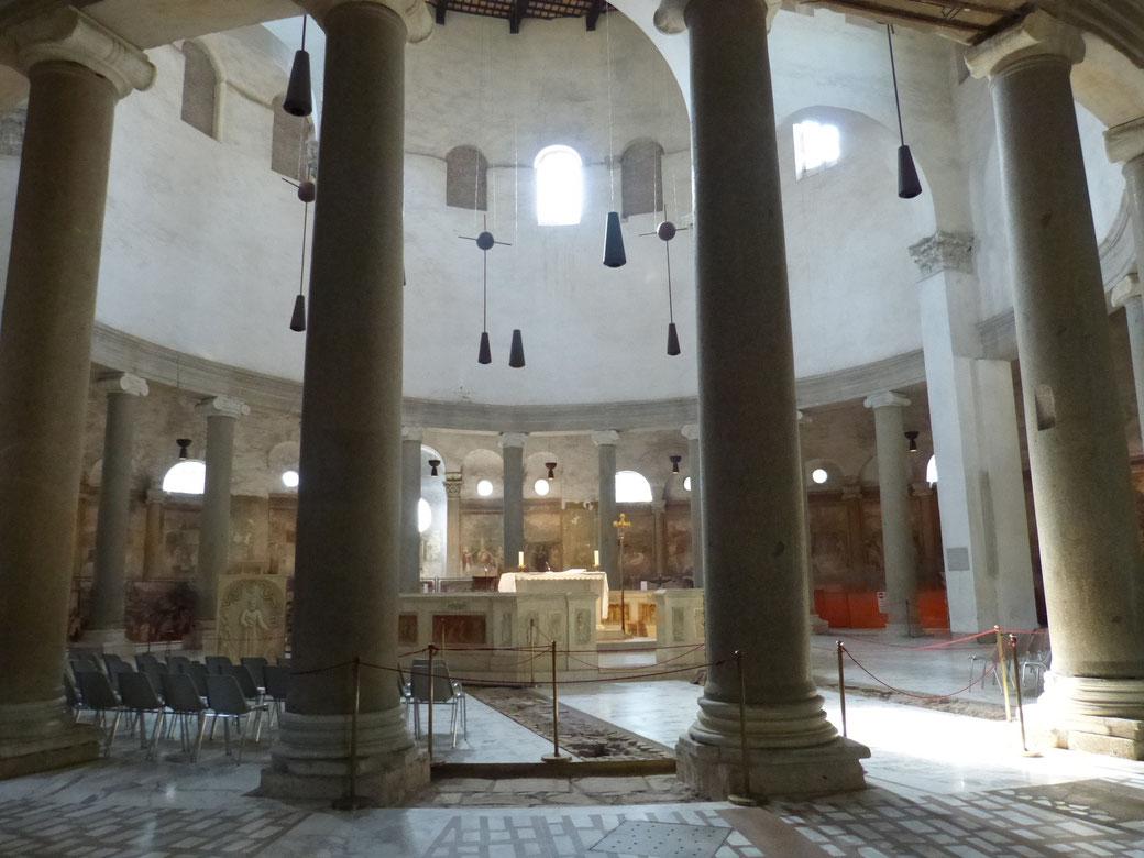Santo Stefano Rotondo in Rom auf dem Celio