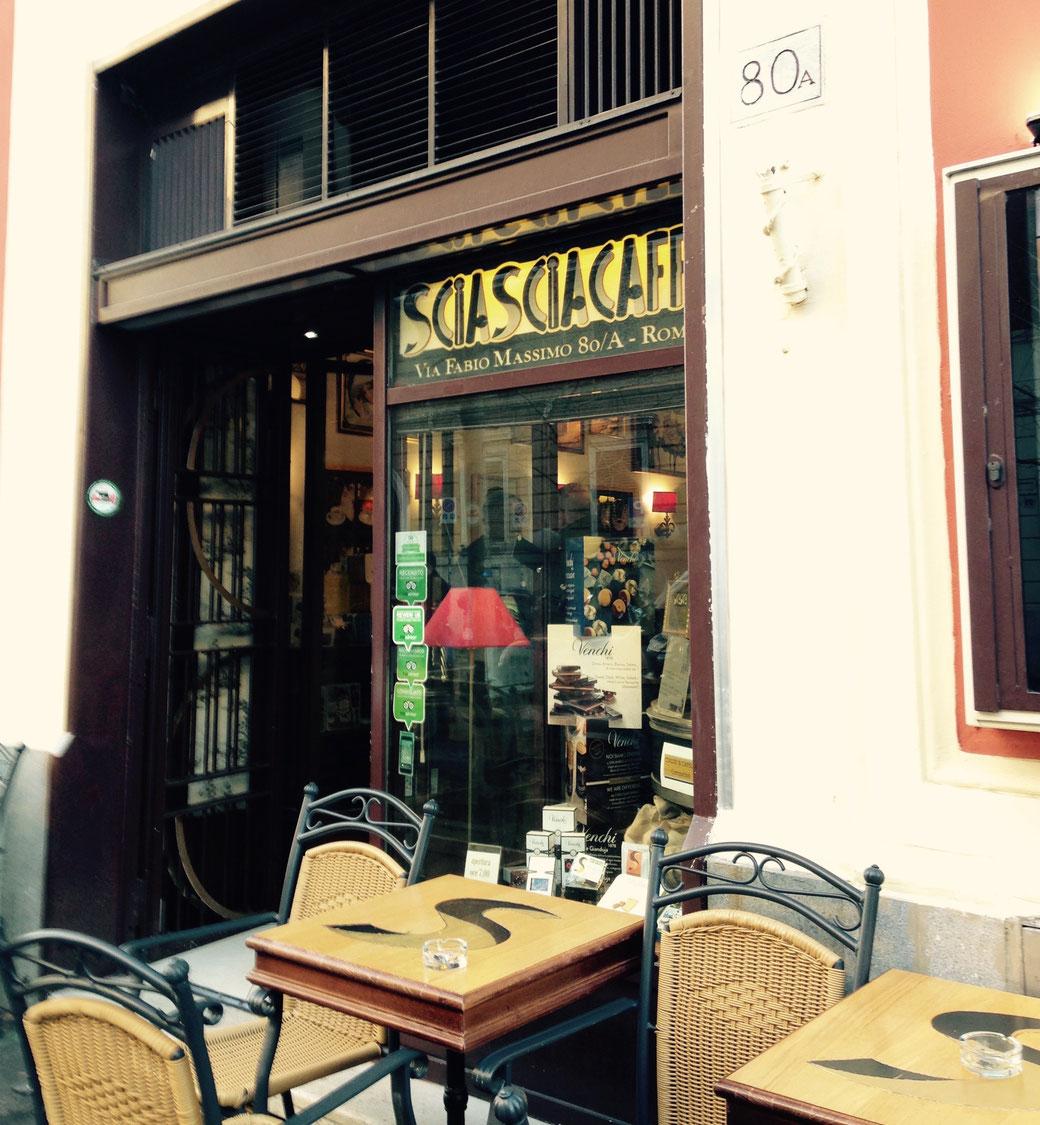Sciascia Café im Stadtteil Prati in der Nähe der Vatikanischen Museen.