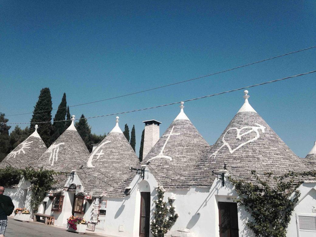 Alberobello - Das UNESCO-Weltkulturerbe gehört zu den touristischten Orten in der Region.