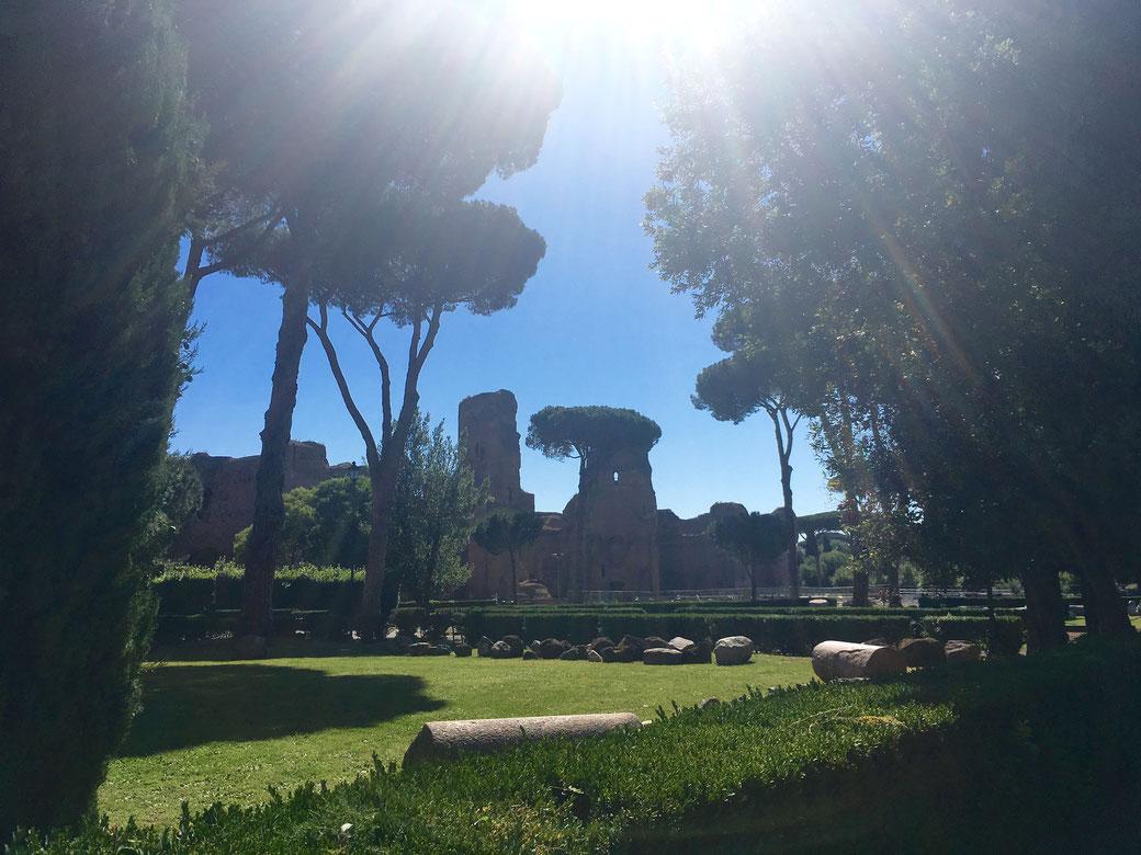 Caracalla-Therme sind nicht nur im September einen Besuch wert.
