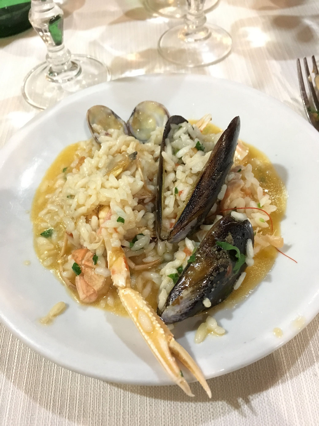 Restaurant-Tipp Rom: Im Papetto kommen Fisch und Meeresfrüchte auf den Tisch