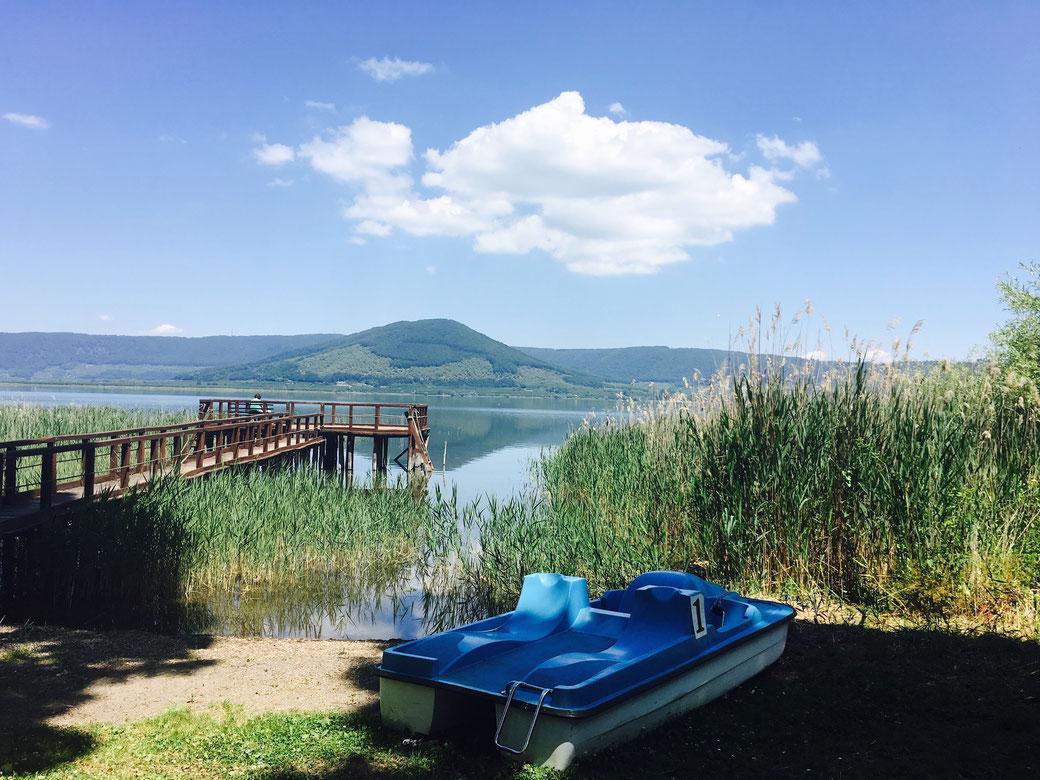 Il Lago di Vico - eine natürliche Schönheit