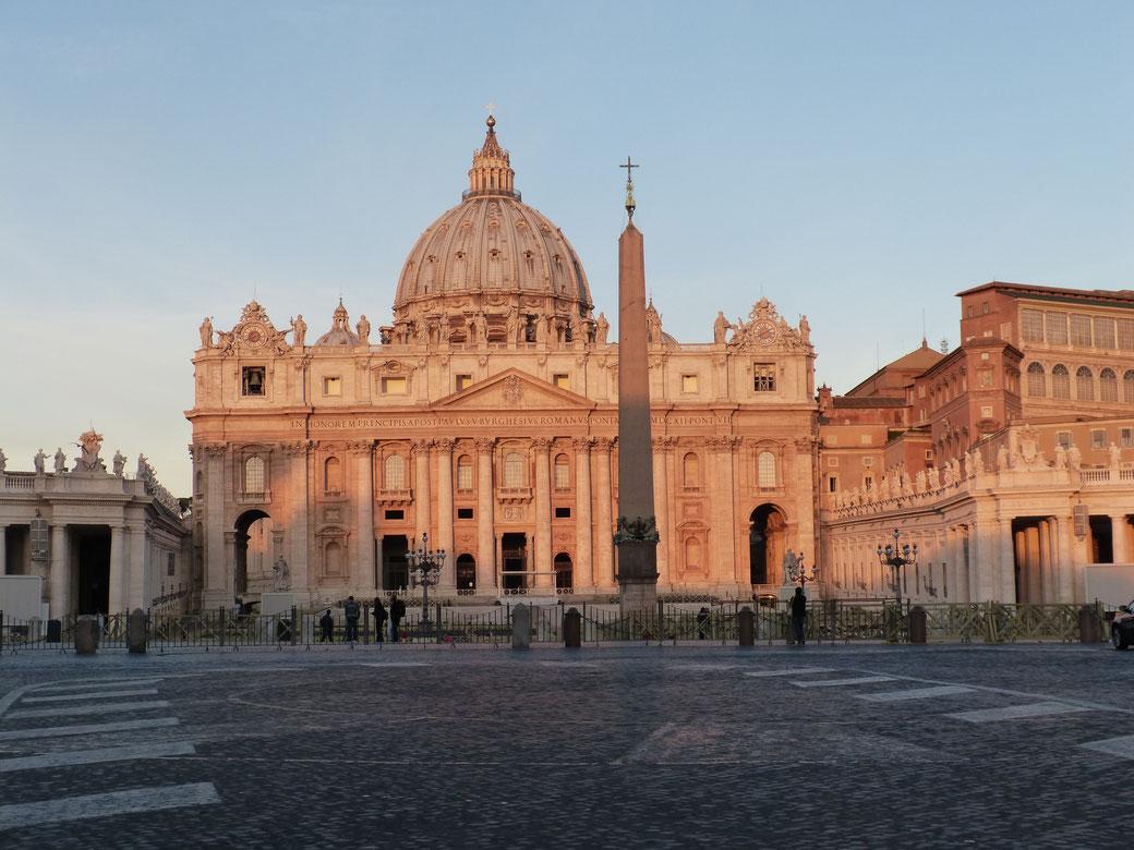 Der Petersdom in Rom - Ewig schön.