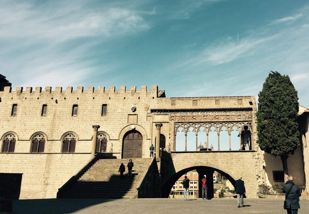 Der Palast der Päpste in Viterbo - Hier fand das längste Konklave der Geschichte statt