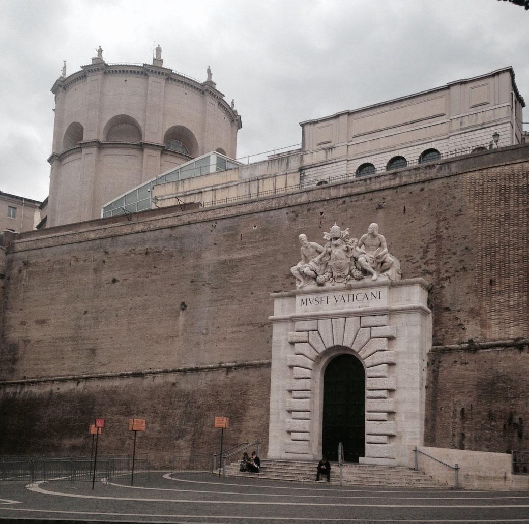 Vatikanische Museen - So leer ist es hier nur selten.