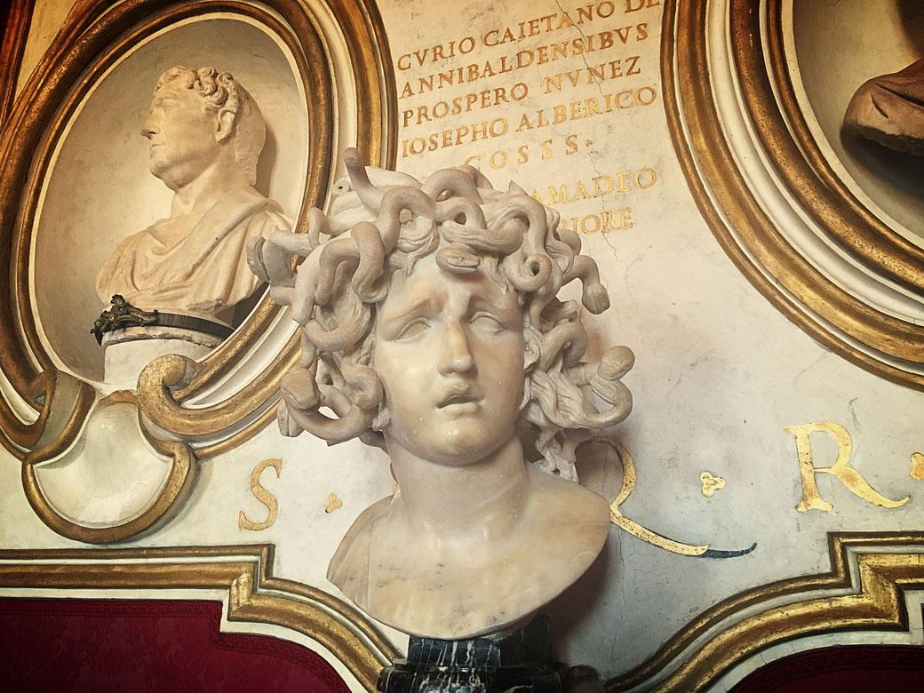 Medusa von Gian Lorenzo Bernini in den Kapitolinischen Museen
