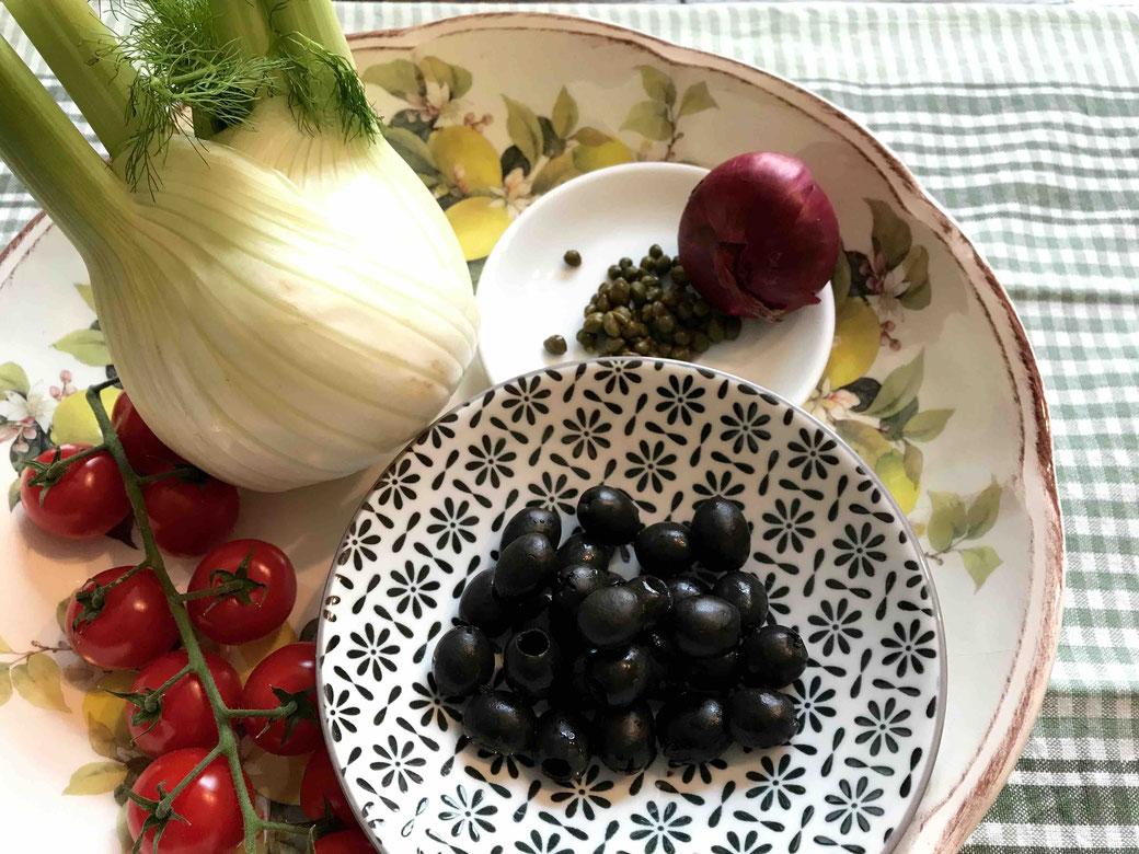 Rezept und Zutaten für italienisches Fenchel-Gemüse