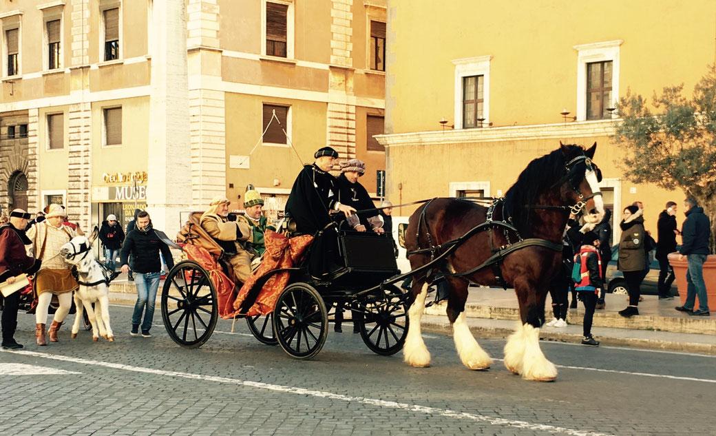 Am 6. Januar kommt in Rom die Befana