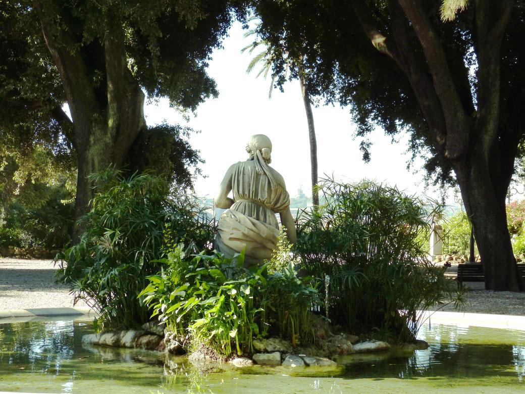 Rom - Brunnen auf dem Pincio