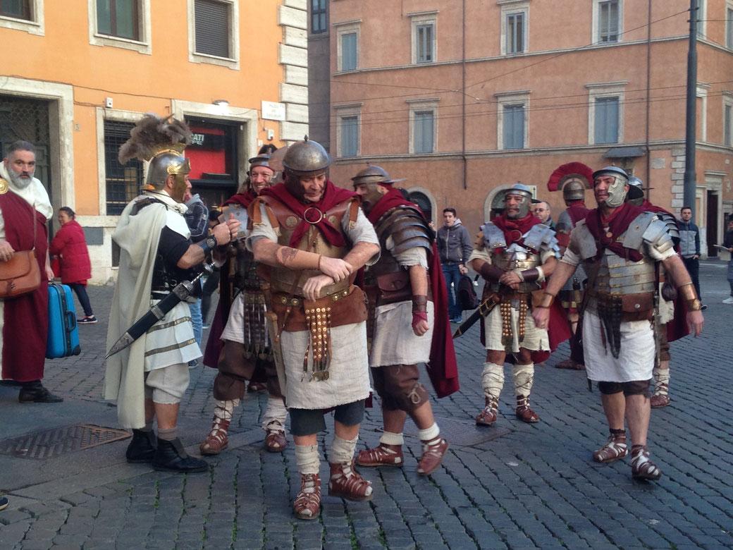 Rom im März - Jedes Jahr am 15. März fällt Caesar erneut einem Mordkomplott zum Opfer