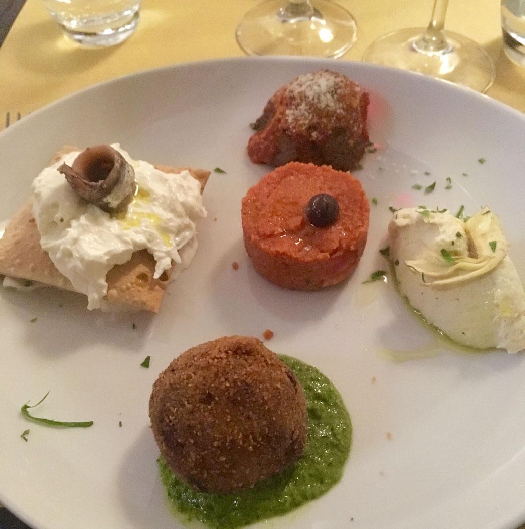 Typisch römisch Essen gehen in Rom: Die Hosteria Grappolo d´oro