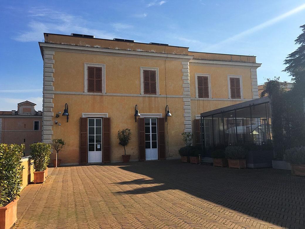 Die Terrazza Caffarelli ist eine beliebte Hochzeits- und Event-Location.