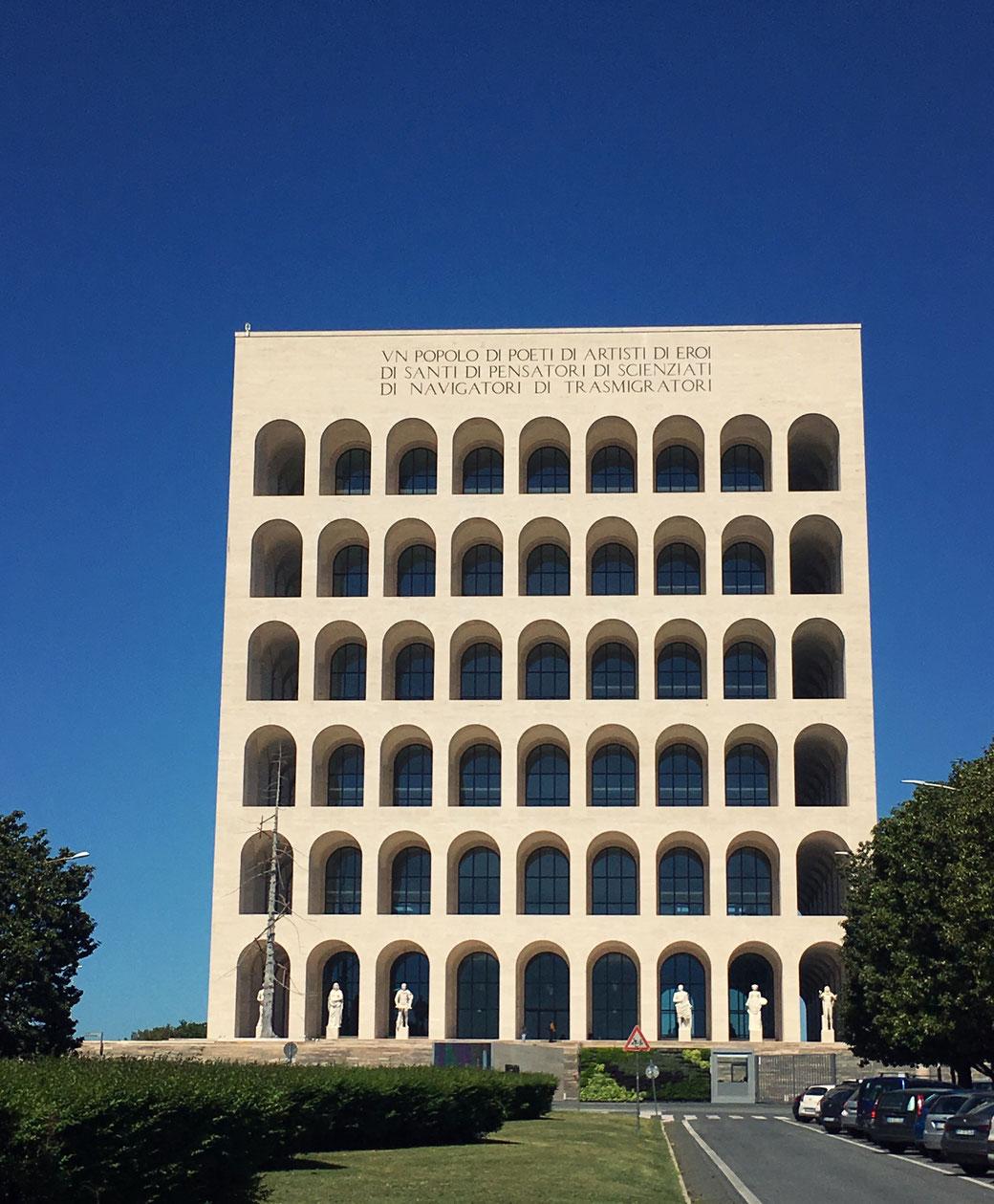 Das Colosseo Quadrato in EUR