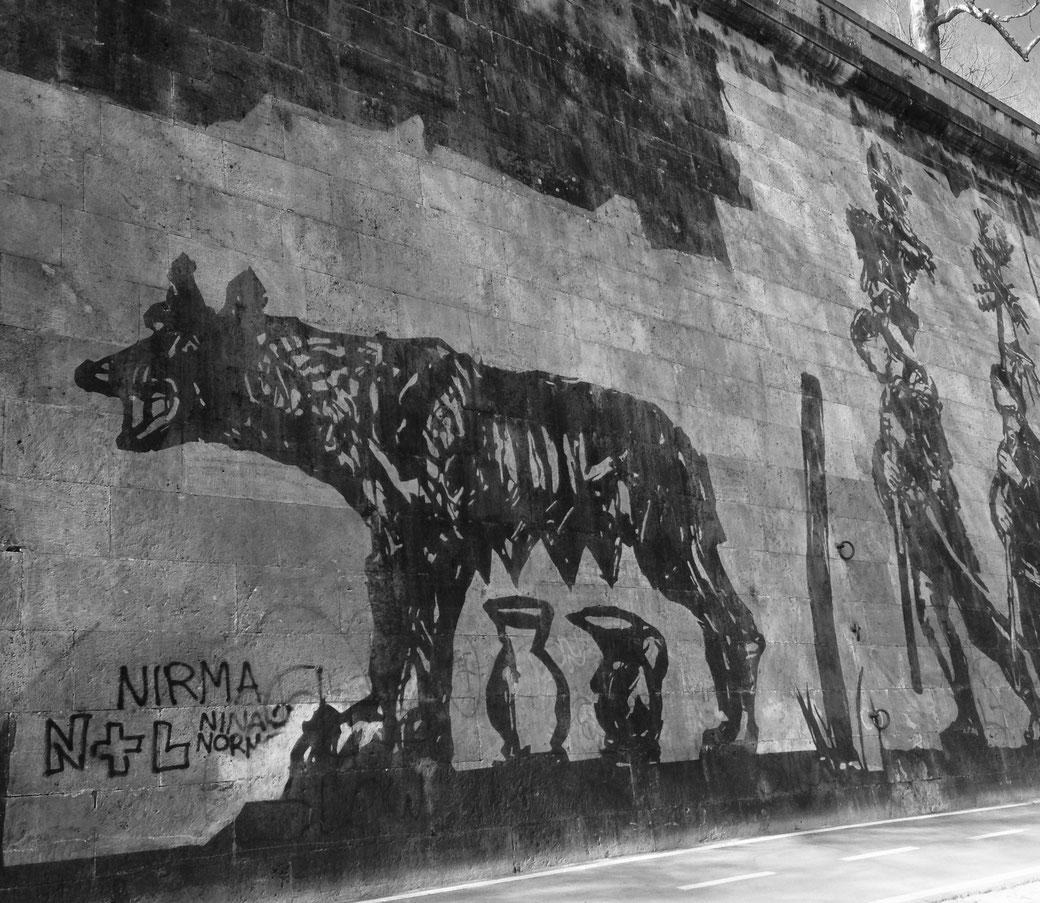 Rom mal anders entdecken. Auf den Spuren der römischen Wölfin.