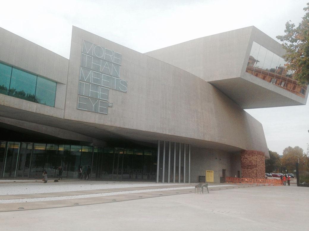 Rom, MAXXI - Das Museum für Kunst des 21. Jahrhundert im Stadtviertel Flaminio