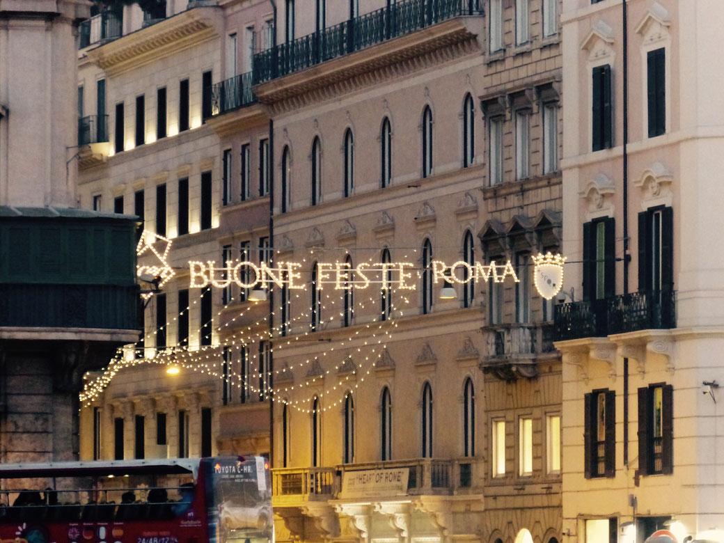Januar in Rom: Am Anfang des Monats habt Ihr Gelegenheit noch einmal Weihnachten zu feiern!