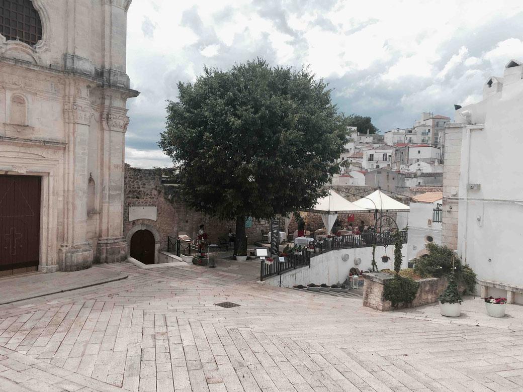 Die hübsche Altstadt von Monte Sant´Angelo.