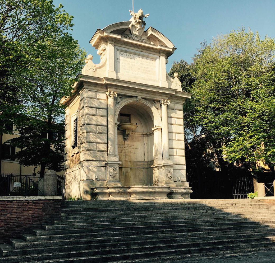 Piazza Trilussa in Trastevere. Hier gibt es noch mehr Sehenswürdigkeiten in Trastevere zu entdecken.
