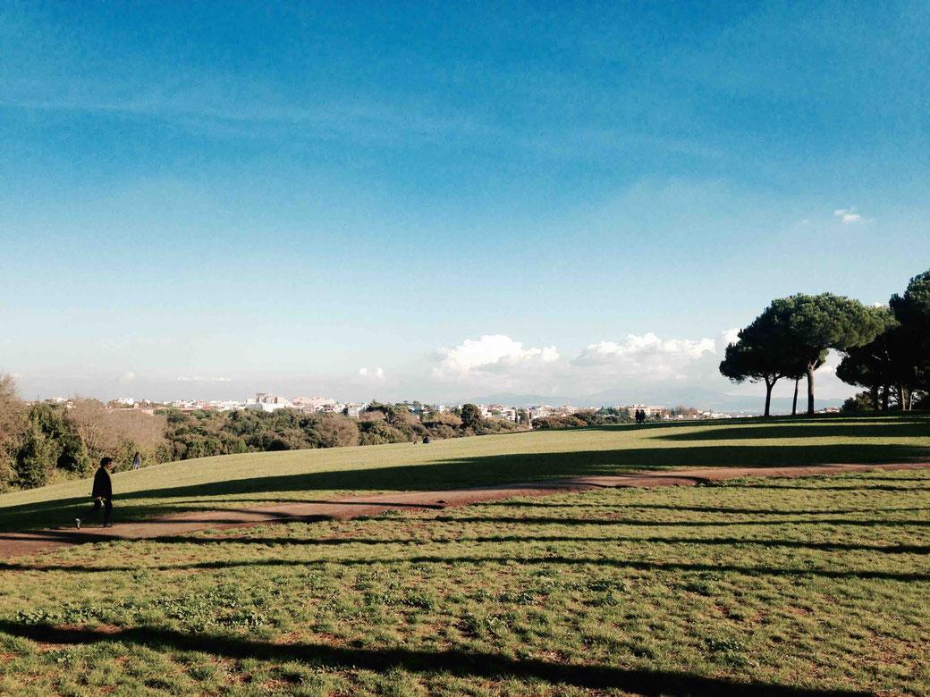 Rom im Oktober - Ein Ausflug in die Villa Doria Pamphili mit Fernblick
