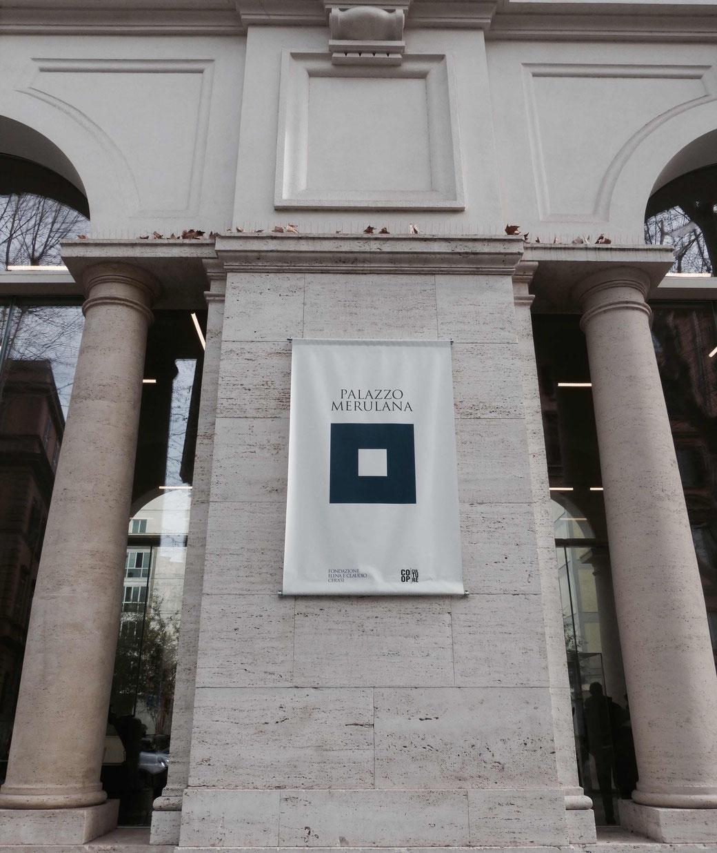 Der neue Kulturspot im Esquilin-Viertel - Der Palazzo Merulana