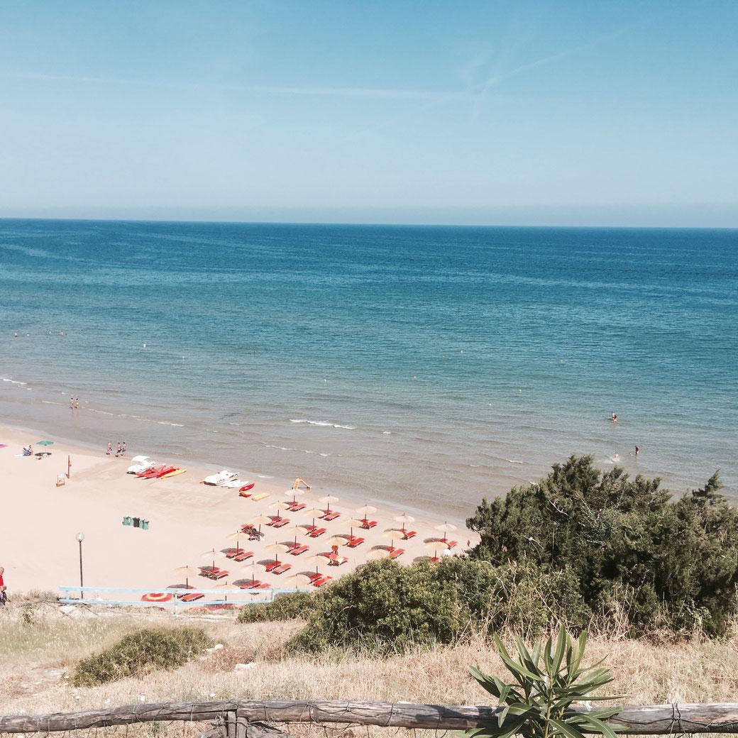 Spiaggia di Zaina im Gargano