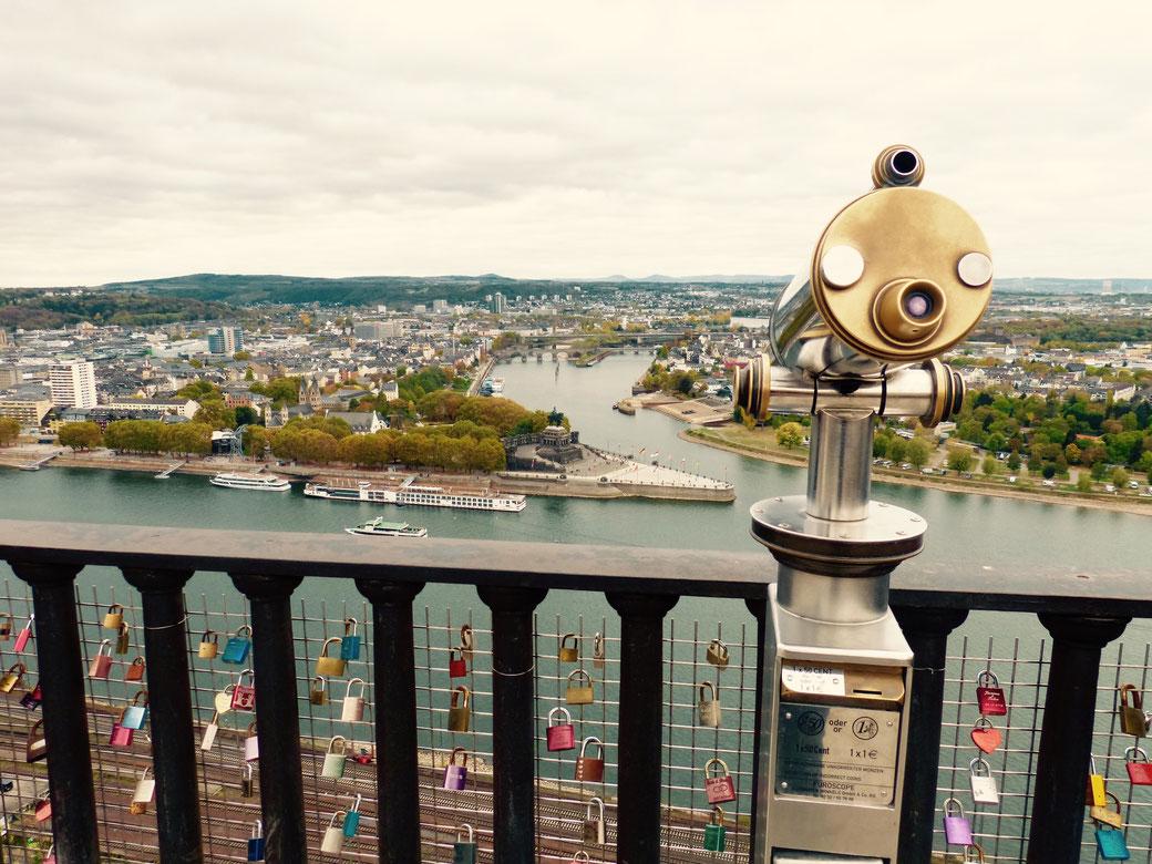 Beste Aussichten auf meine Heimatstadt Koblenz