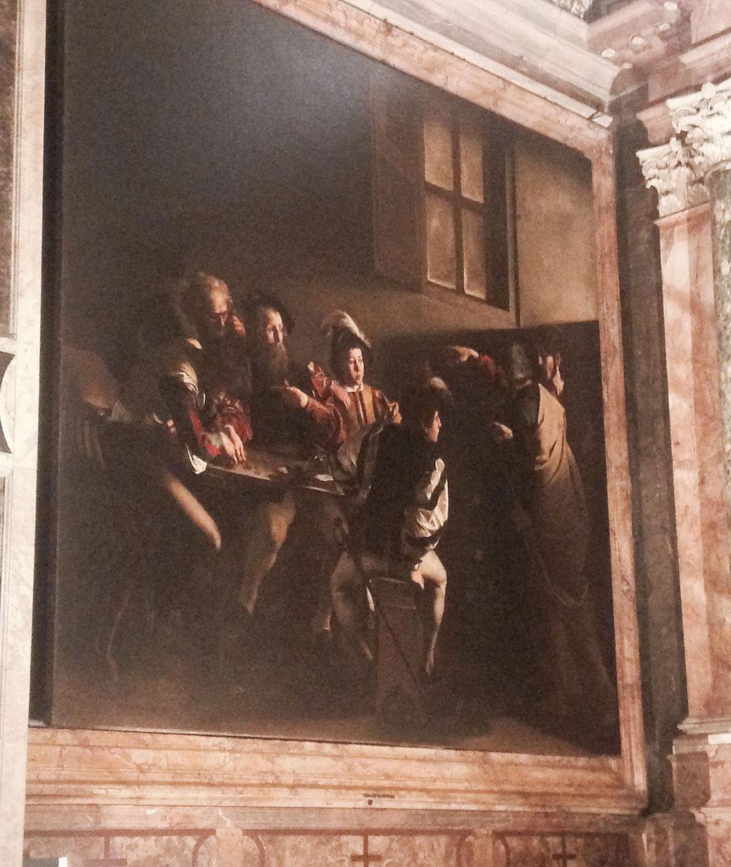 Caravaggio - In der Französischen Nationalgalerie hängen gleich drei Meisterwerke des Barock-Malers