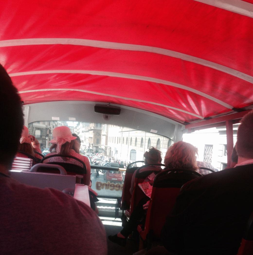 Manche Fahrgäste sehen in jeder Hinsicht Rot.
