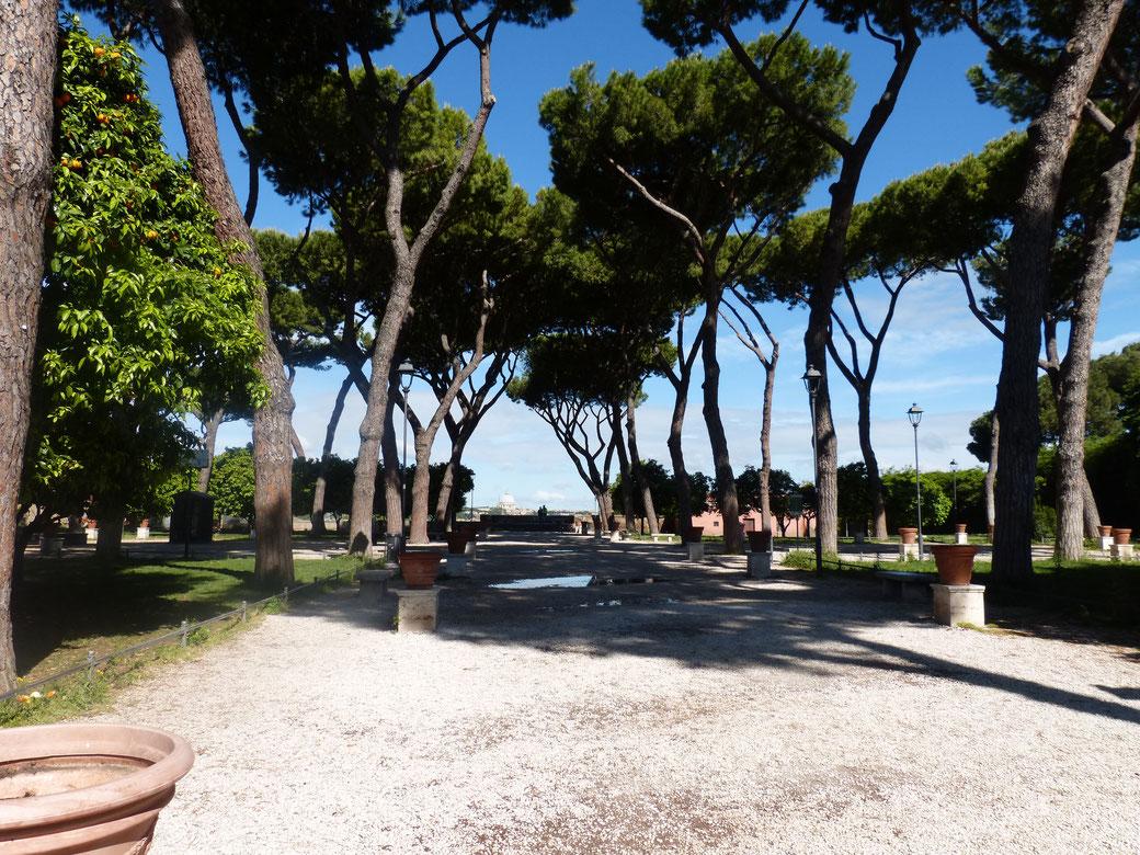 Angelegt wurde der Giardino degli Aranci Anfang der 1930er Jahre.
