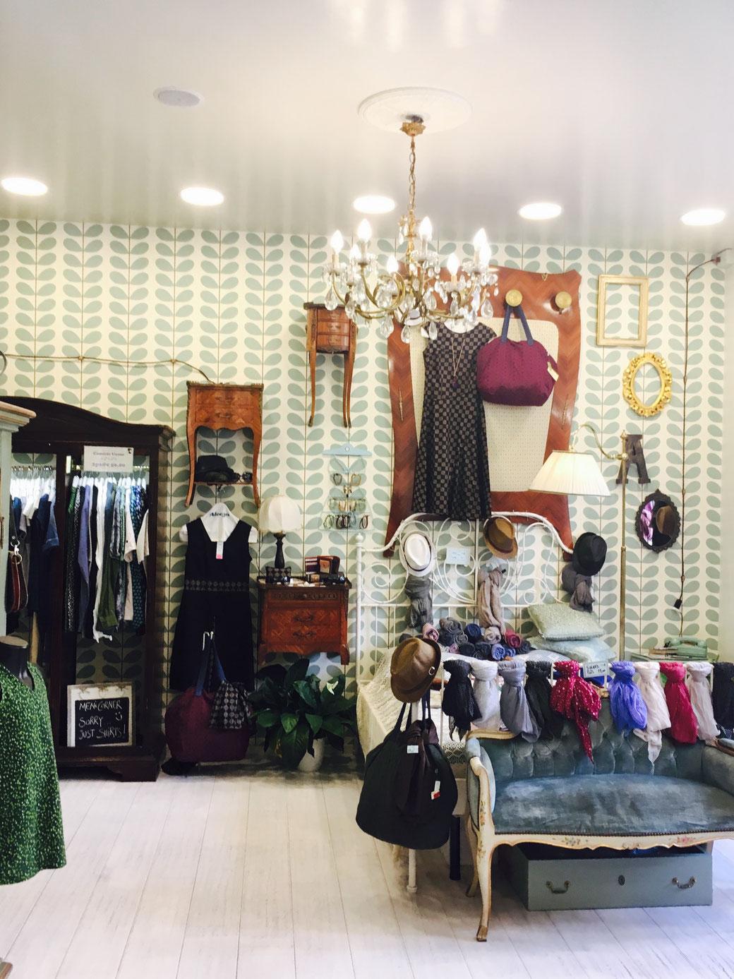 So schön! - Der Aleeza-Store auf der noblen Via Cola di Rienzo.